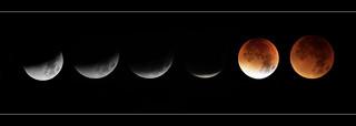Bochum - 28.9.2015 Lunar eclipse 03.50 - 04.46 h 03