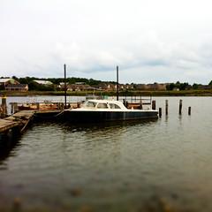 Boat on the Ross Barnett Reservoir