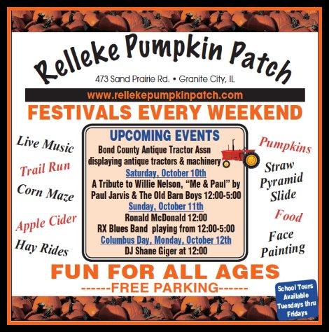 Relleke Pumpkin Patch 10-10, 10-11-15