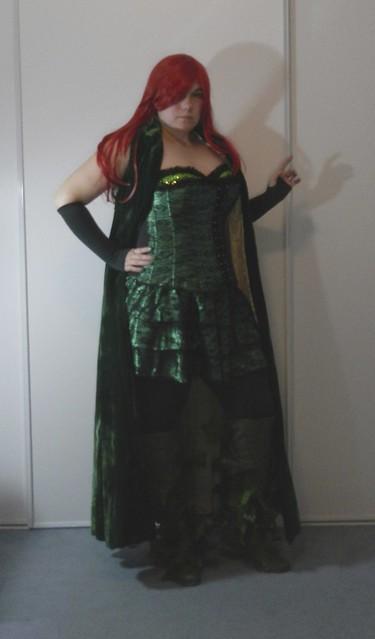 Poison Ivy Costume 7