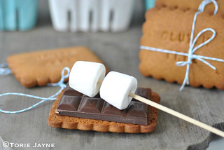 Making gluten free S'mores