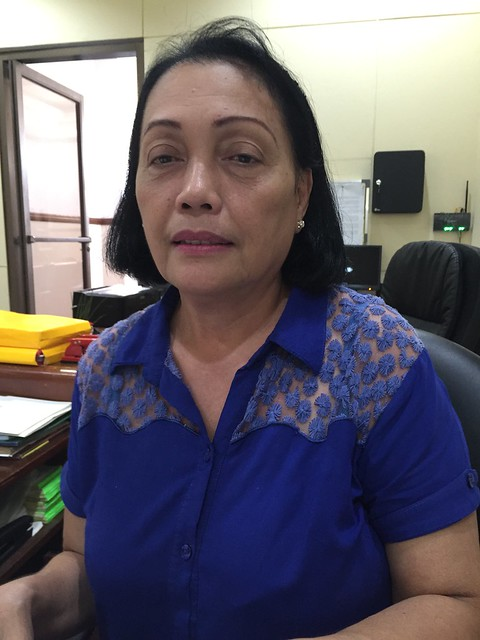 Municipal Hall employee Marilu C. Mangubat