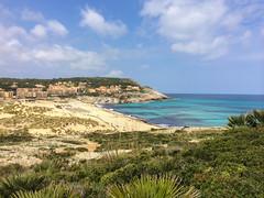 Strand Agulla in Calla Mesquida, Mallorca