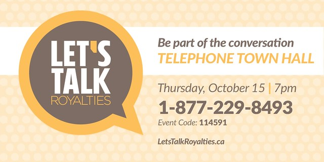 Royalty Review Telephone Town Hall