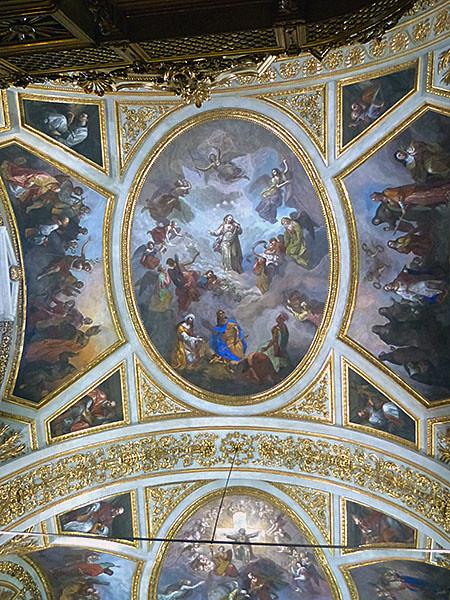 fresque chiesa dei martiri