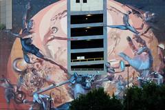Dallas - Parking Lot Mural