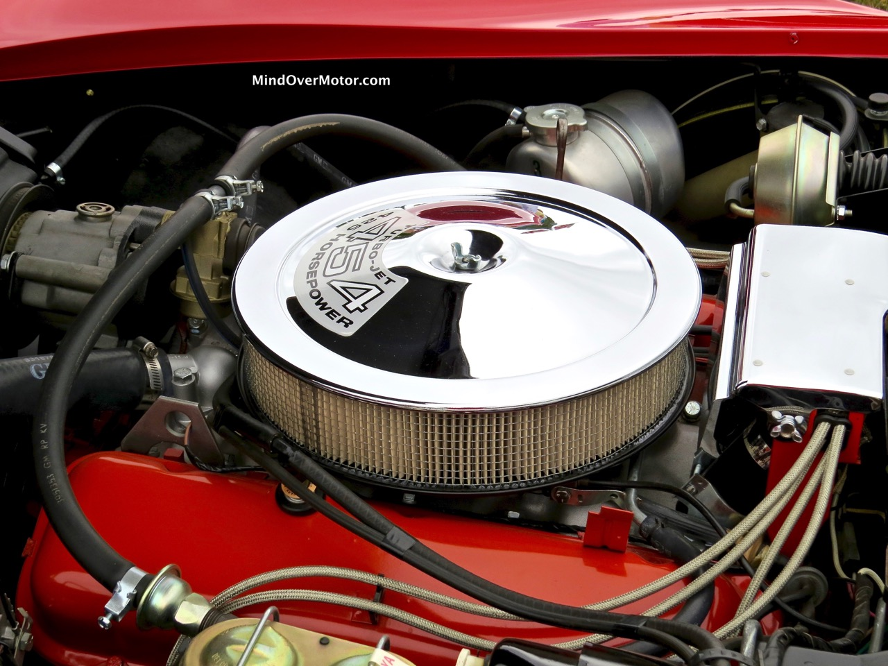 1971 Corvette Stingray Engine