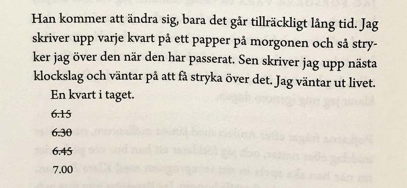 det är något som inte stämmer. | Sandra Beijer
