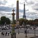 three monuments of Paris by Ingo Klever