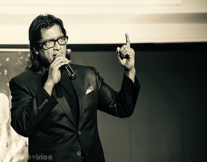 Hand Gesture of Nepali Superstar Rajesh Hamal