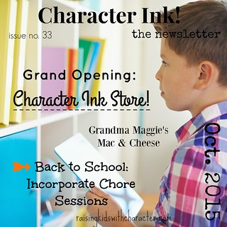 Character Ink Newsletter No. 33