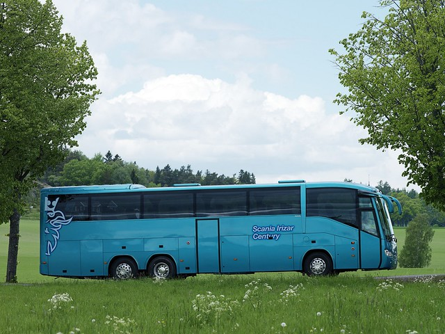 Туристический автобус Irizar Scania Century 6x2. 2006 год