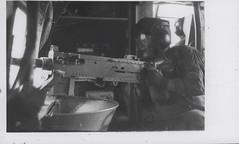 Willard J. Falgout, Jr. Provides Covering Fire, circa 1968