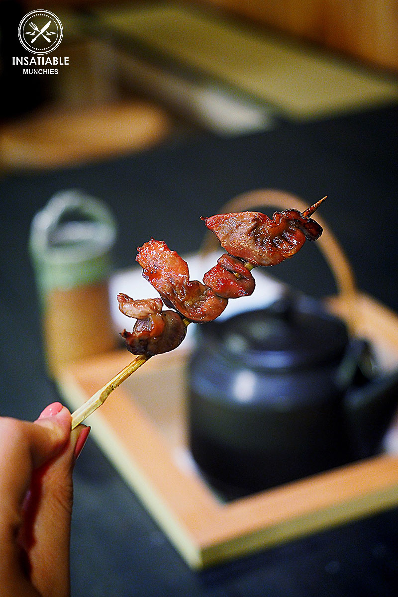 Chicken Gizzard Skewer, Yurippi, Crows Nest: Sydney Food Blog Review