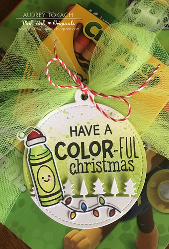Color-Ful Christmas Tags