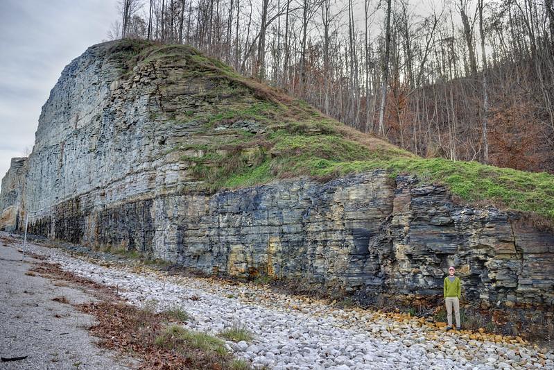 Highway 52 rock cut, Jon Zetterberg, Clay County, Tennessee 1