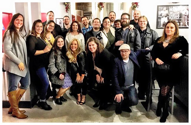 The 2015 Three29 Holiday Party Gang