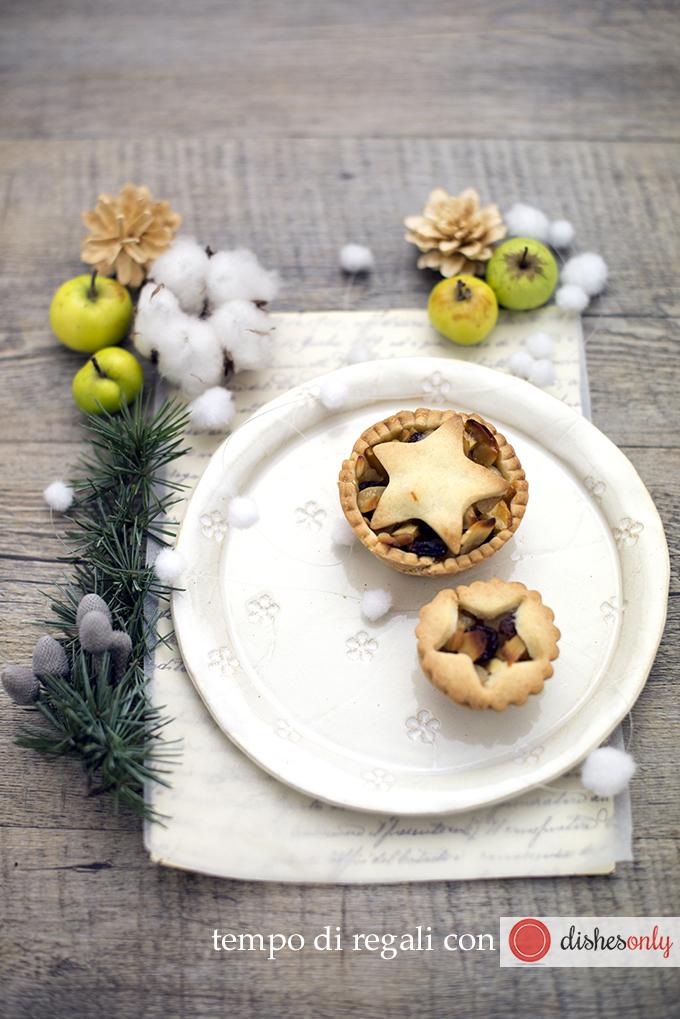 Natale - piatto ricamo