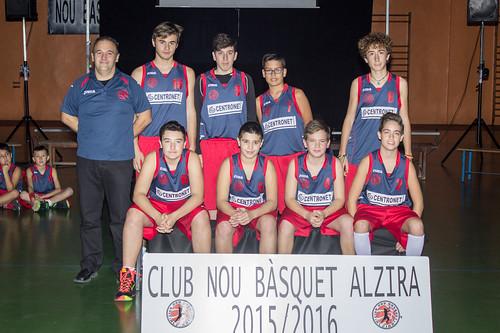 PRESENTACIO NBALZIRA 2015 2016 INFANTIL BLAU