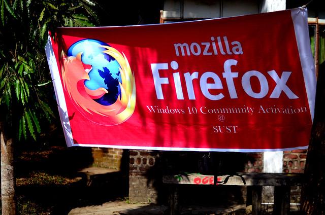 Banner Outside