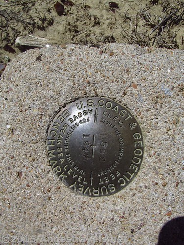 We even found a geological survey marker at the Medicine Bow Airport, Wyoming