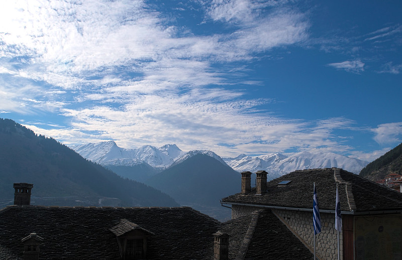 Mountains from Metsovo