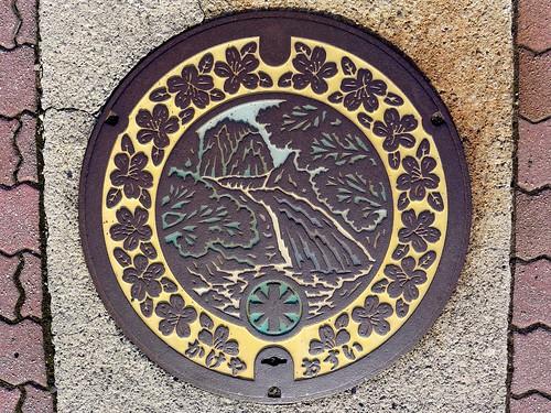 Kakeya Shimane, manhole cover (島根県掛合町のマンホール)