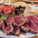 Seared Tuna at Skip Jacks - Simpson Bay, St. Maarten