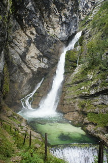 bohinj waterfall