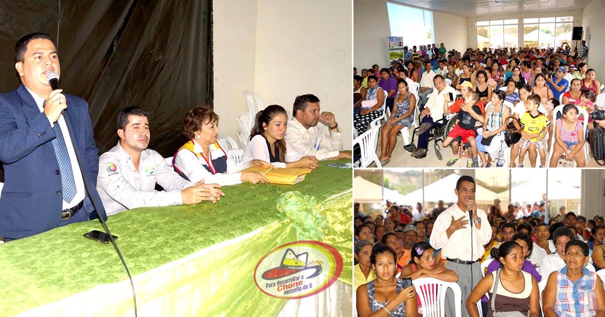 Socializan programa habitacional San Cayetano