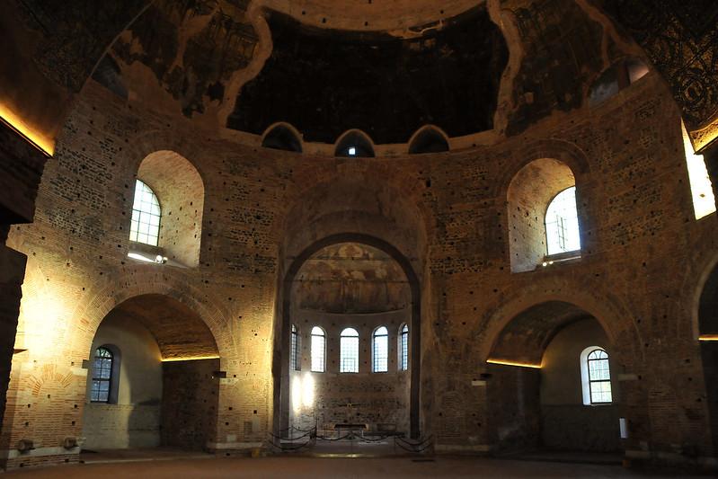 Ροτόντα εσωτερικό - Rotunda interior