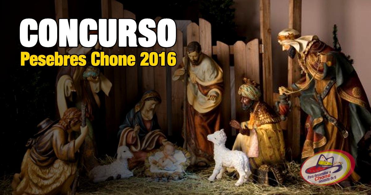 Bases para el concurso de pesebres Chone 2016