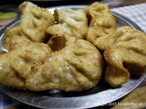 Fried Momos At Tibetean Brothers