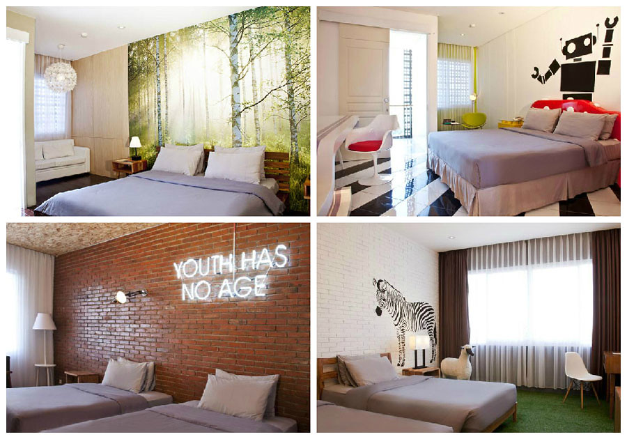 Stevie G Hotel Room Collage
