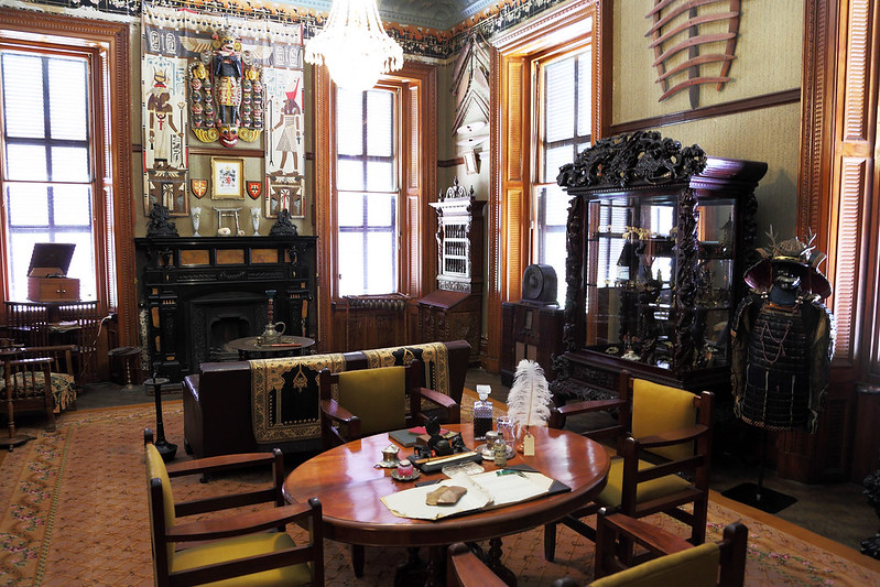 Martindale Hall, trophy room