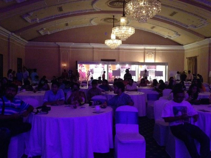 Ball Room of Grand Hotel - Berger Express Painting IndiBlogger Meet 2015 at The Oberoi Grand, Kolkata