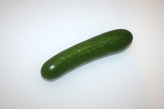 12 - Zutat Salatgurke / Ingredient cucumber