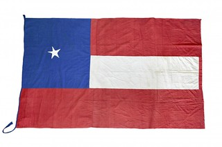 Lone Star flag of the 5th infantry regiment of Texas