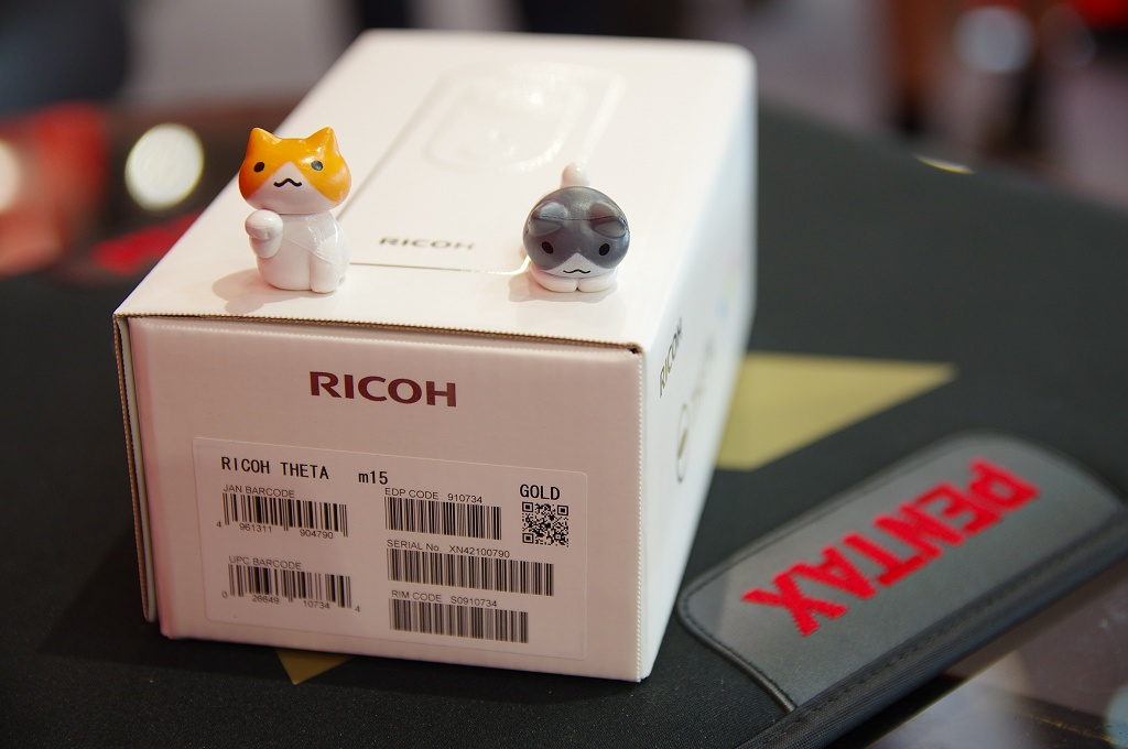 Ricoh Theta m15 全天球相機開箱