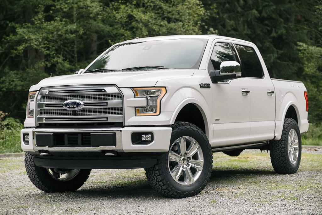 White Platinum Metallic Pics Page 2 Ford F150 Forum