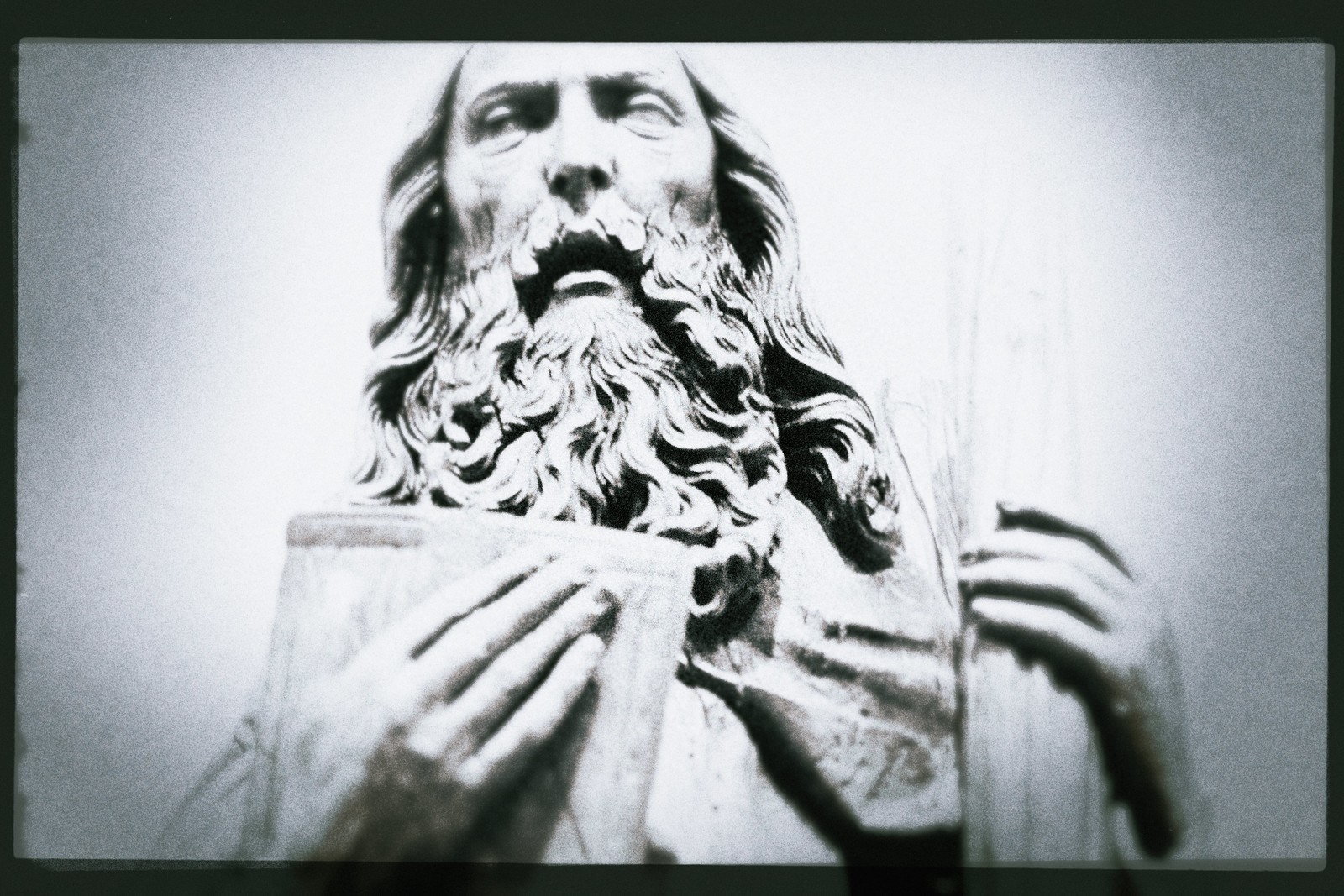 "Portrait of ca. 1505 ""St. Andrew"", Linden Wood Carving"