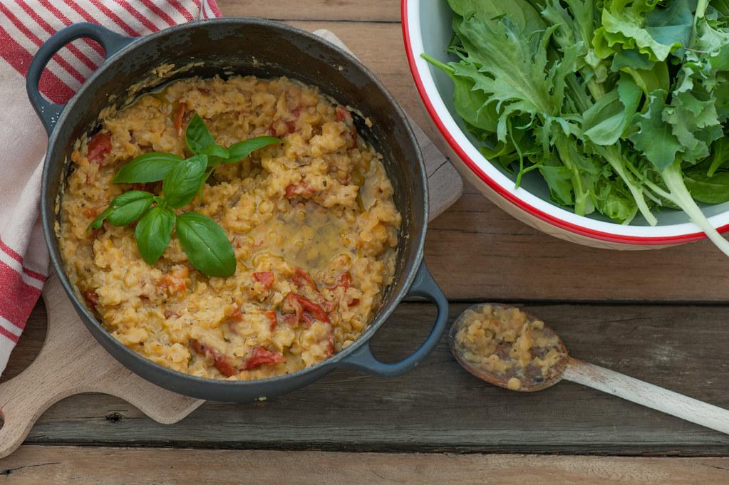 m3. Tomato & Basil Lentilotto