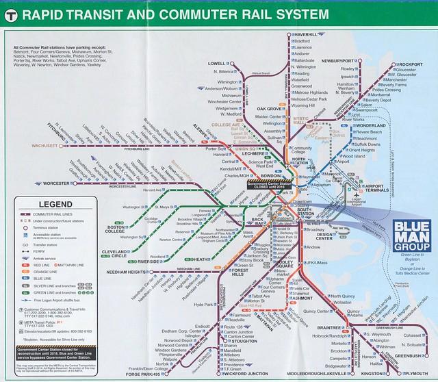 MBTA 2014 Map