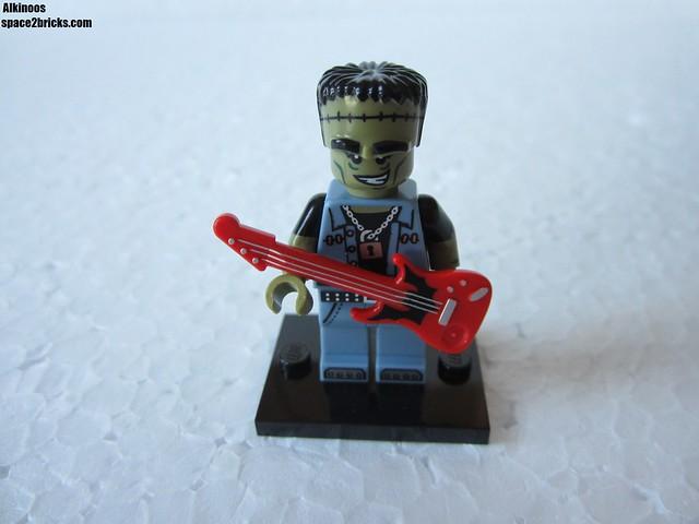Lego Minifigures S14 Monstre rockeur p1