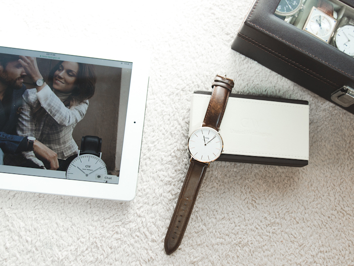 Olga choi fashion blogger myblondegal South Korea elegant smart chic Daniel Wellington Classic Bristol watch 36 mm-08153