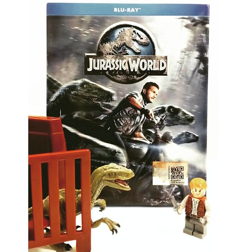 Guess what's on for #movienight  tonight?  #moviebuff #bluray #chrispratt #jurrasicworld #geekshavethemostfun