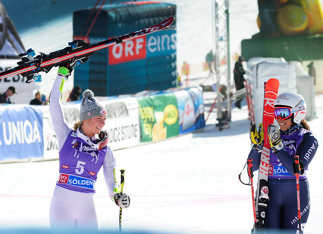Mikaela Shiffrin 2nd in Opening GS Soelden