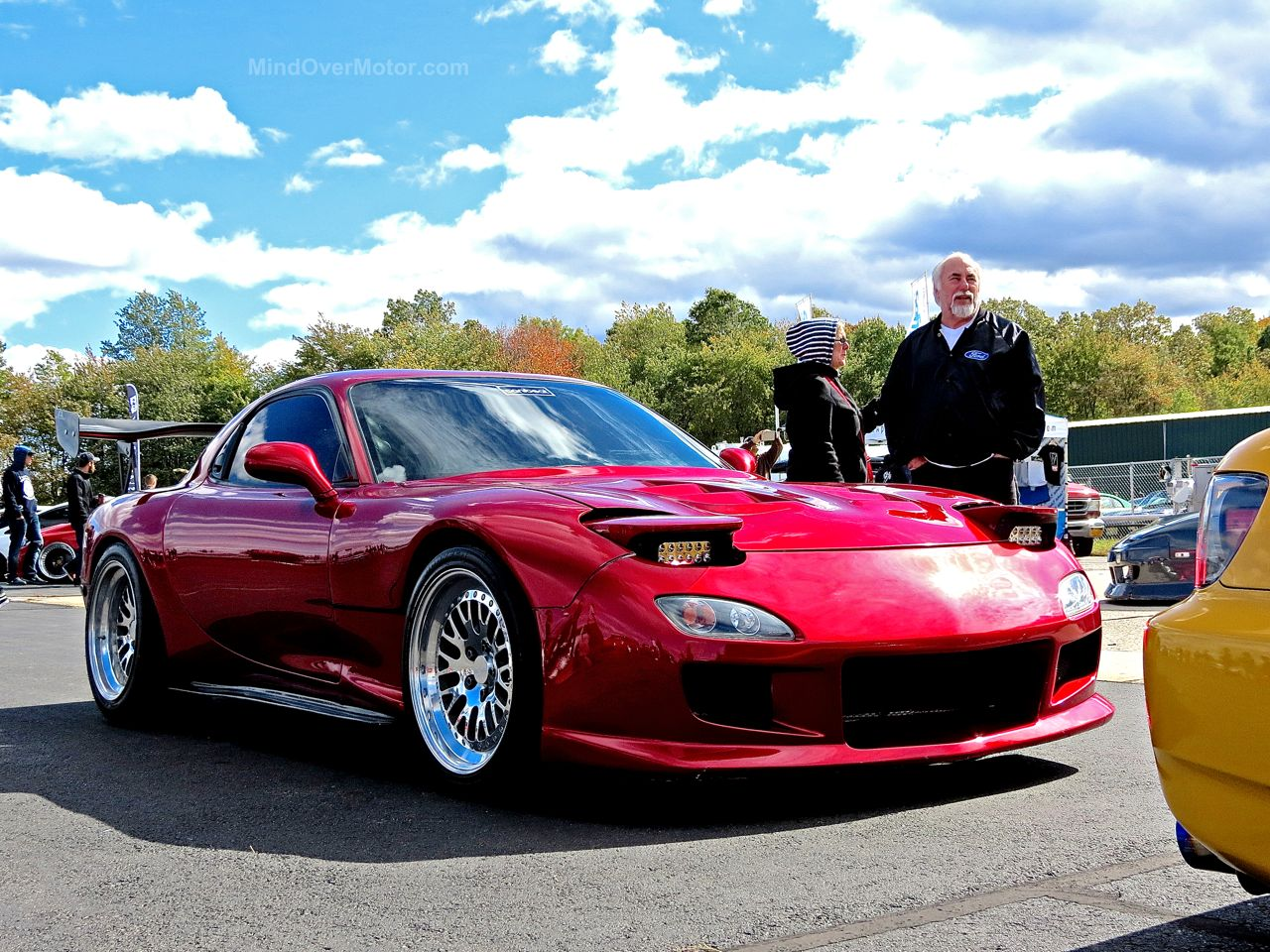 Mazda FD RX7 Red First Class Fitment