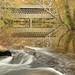 Poole's Mill Covered Bridge, Settingdown Creek, Poole's Mill Park. Forsyth County, Georgia 1 by Alan Cressler