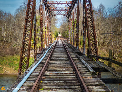 railroad trestle bridge train landscape lumix outdoor tracks northcarolina railway panasonic murphy ln fz200